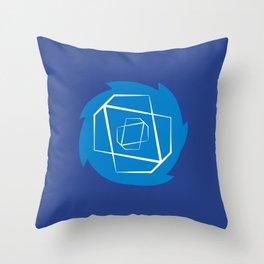 Sonic-Dash Throw Pillow