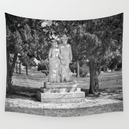 Garden of Pioneers Wall Tapestry