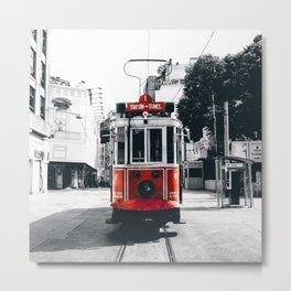 Istanbul - Taksim Metal Print