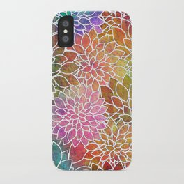 Floral Abstract 6 iPhone Case