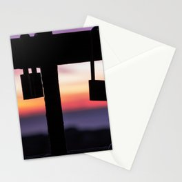 Seals of Love at Sunset. Stationery Cards