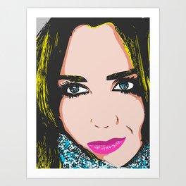 Sexy Lips Art Print