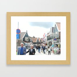 Volendam Holland Framed Art Print