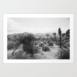 The Place to be in Joshua Tree Art Print