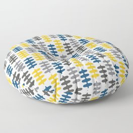 Joy collection - Yellow leaves Floor Pillow