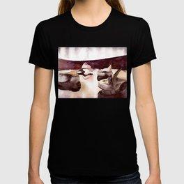 bordo interior T-shirt