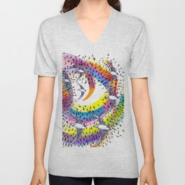 Spin and Spin Unisex V-Neck
