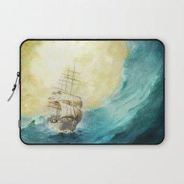 Through Stormy Waters Laptop Sleeve