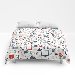 Icon pattern Comforters