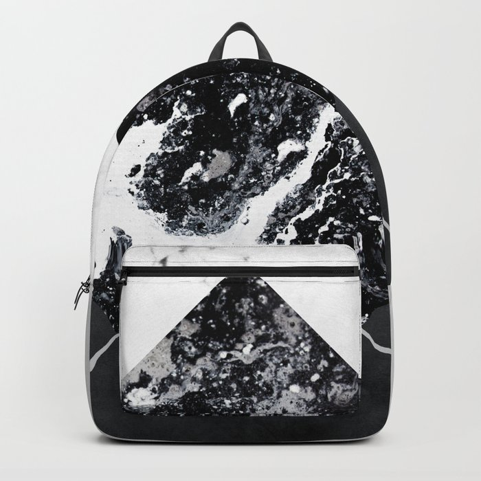 Geometric Textures 7 Backpack