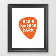 Radio Mirror Park Framed Art Print