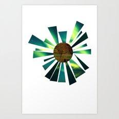 Hello Earth Art Print