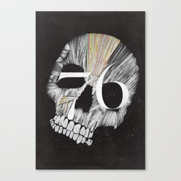 Skulltones Canvas Print