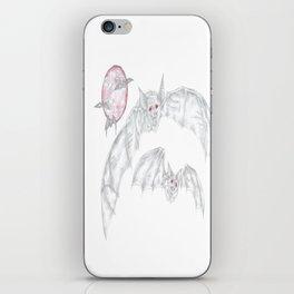 Blood moon bats iPhone Skin
