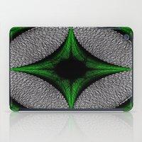 gem iPad Cases featuring Green Gem by Sartoris ART