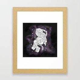 Odd Space Framed Art Print