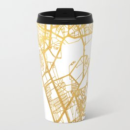 MANILA PHILIPPINES CITY STREET MAP ART Travel Mug