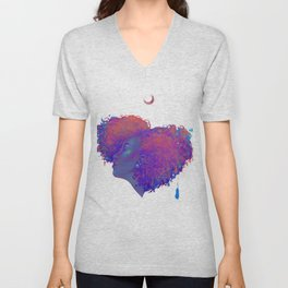 My Heart Unisex V-Neck