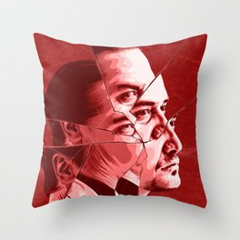 Mike Patton Throw Pillow