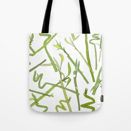 Scattered Bamboos Tote Bag