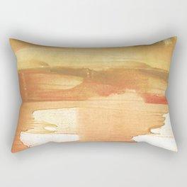 Peru colored watercolor design Rectangular Pillow