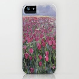Flower Fields iPhone Case