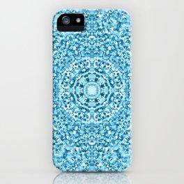 """Magnolia ~ Steel Blue"" - (Original Digital Artwork by Vincent Ferraro) iPhone Case"