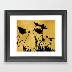 Then She Walked By Framed Art Print