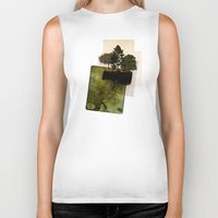 island Biker Tanks featuring ISLAND by oppositevision