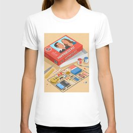 How to build happiness T-shirt