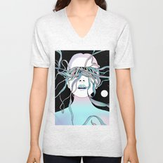 I See My Dreams and Memories Collide Unisex V-Neck