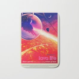 NASA Visions of the Future - Lava Life at 55 Cancri e Bath Mat