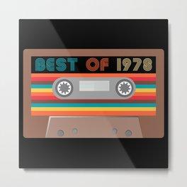 Best of  1978 Metal Print