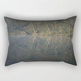 deep hayes reflections Rectangular Pillow