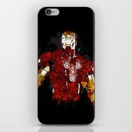 Iron Flux iPhone Skin