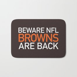 Browns Are Back Bath Mat