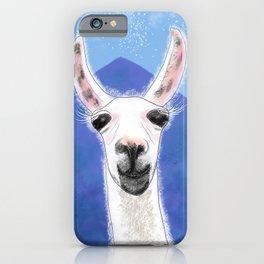 Llama Yama Smiling iPhone Case