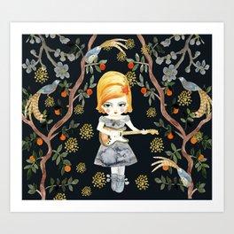 Floral Song Art Print