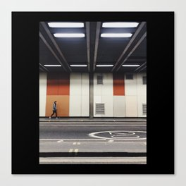 Barbican Underpass Canvas Print