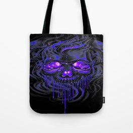Purple Nurpel Skeletons Tote Bag