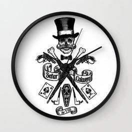 SEÑOR CALAVERA Wall Clock