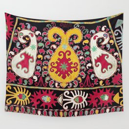 Lakai Tribal Nomad Antique Uzbekistan Horse Cover Print Wall Tapestry