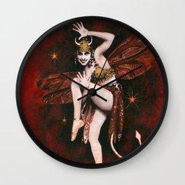 Vintage Devil Dancer Wall Clock