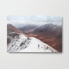 Snow Land Metal Print