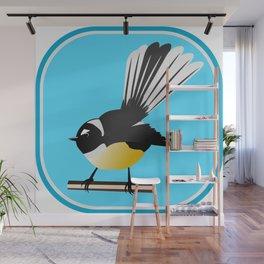Fantail NZ BIRD Wall Mural