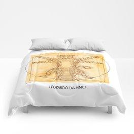 Leopardo da Vinci Comforters