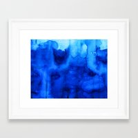marine Framed Art Prints featuring Marine by itsme.emi