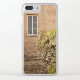 Worn Wall in Old Town #decor #society6 #buyart Clear iPhone Case