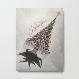 Gruss vom Krampus Metal Print