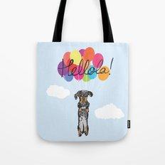 Lola The Sausage Tote Bag